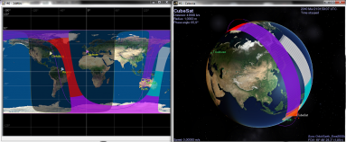 Satellite Sensor Swath